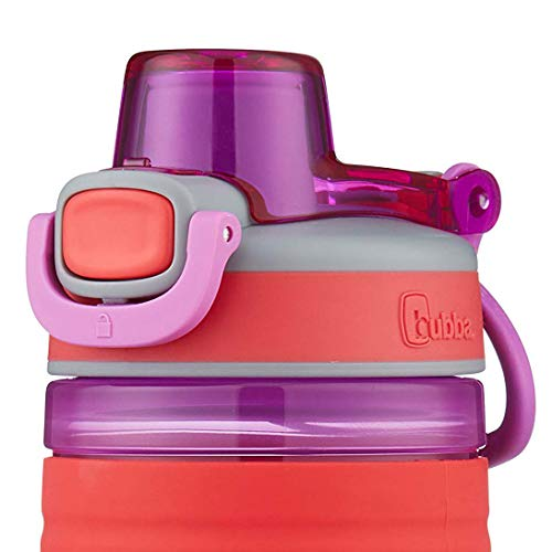 bubba Flo Refresh Kids Water Bottle, 16 Ounce, Coral