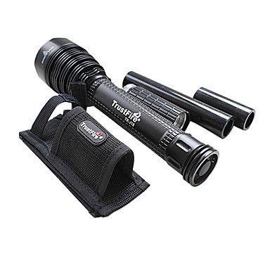 ZQ LED Taschenlampen/Hand Taschenlampen ( Wiederaufladbar ) - LED - Multifunktion 5 Modus 8000 Lumen 18650 Cree XM-L T6 Batterie Trustfire 5