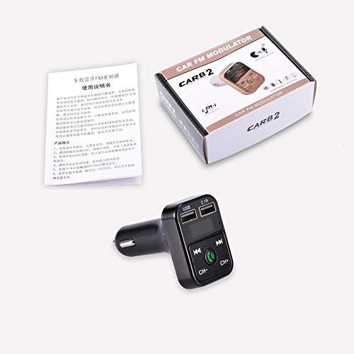 SEN Kit de Coche USB Transmisor FM Adaptador de Radio ...