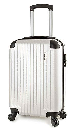TravelCross Philadelphia 20'' Carry On Lightweight Hardshell Spinner Luggage - -