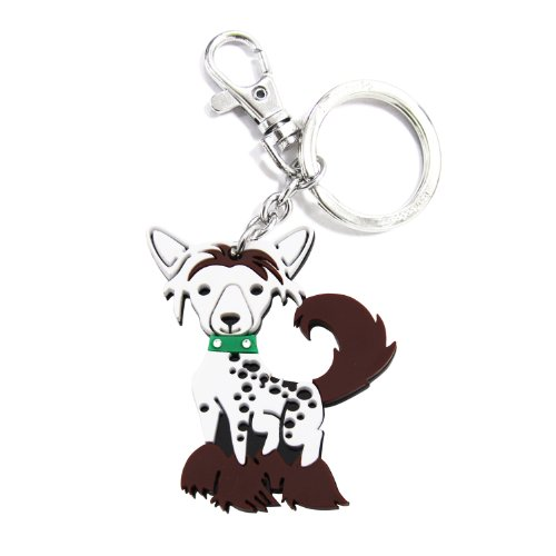 Love Your Breed Acrylic Keychain, Chinese Crested Chinese Crested Accessories