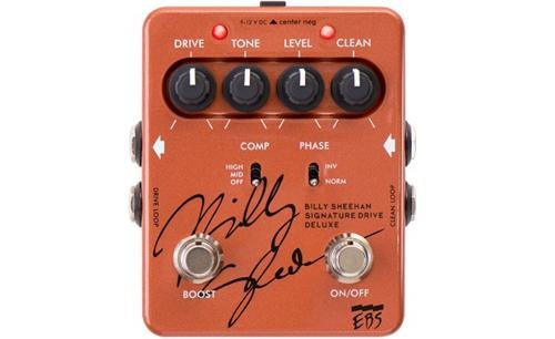 EBS Billy Sheehan Signature Deluxe Overdrive/Distortion Bass Effects Pedal by EBS