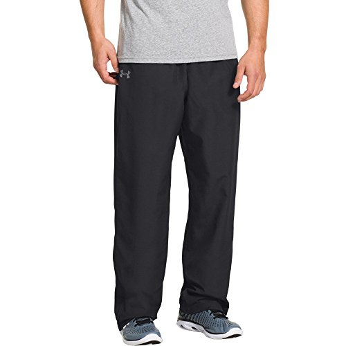 Under Armour Men's Vital Warm-Up Pants, Black/Graphite, Small
