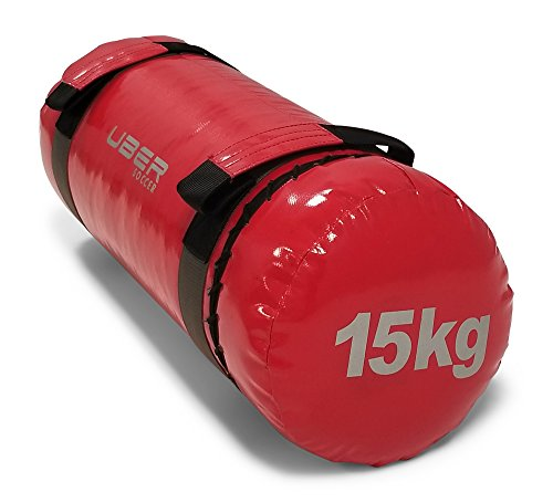Uber Soccer Strength Training Bag - 15kg - Red
