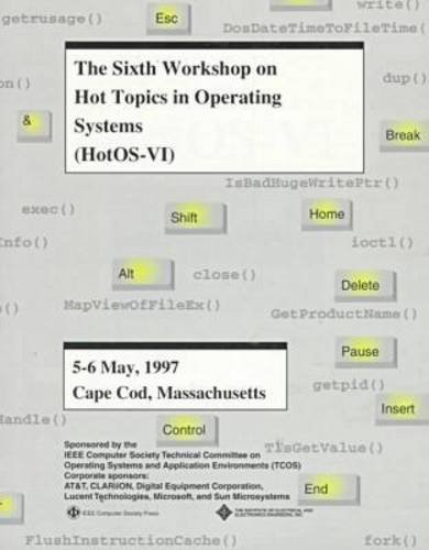 The 6th Workshop on Hot Topics in Operating Systems: Proceedings, May 5-6, 1997, Cape Cod, Massachusetts