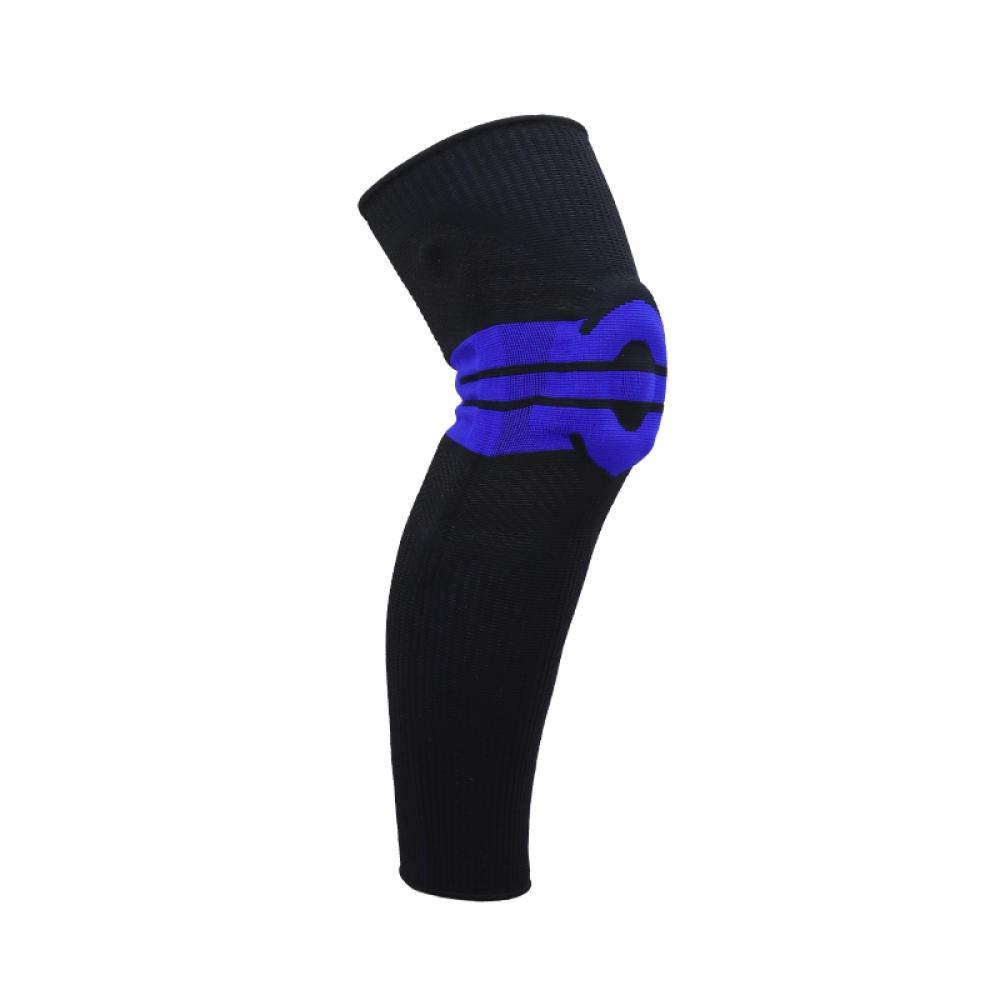 gzlstar. Knieschutz,Europa Und Die Vereinigten Staaten Im Freien Verdickung Lange Silikonfeder Unterstützung Knieschützer Pflege Kalb Fitness Sport Laufbekleidung