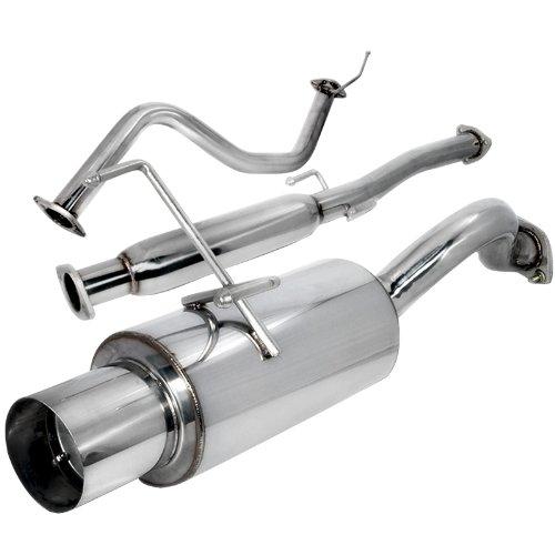 Spec-D Tuning MFCAT2-CV923 Honda Civic 3Dr 3D Hatchback Exhaust Catback System ()