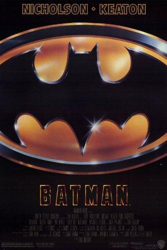 Batman Movie Poster (11 x 17 Inches - 28cm x 44cm) (1989) Style A -(Michael Keaton)(Jack Nicholson)(Kim Basinger)(Robert Wuhl)(Tracey Walter)(Billy Dee -