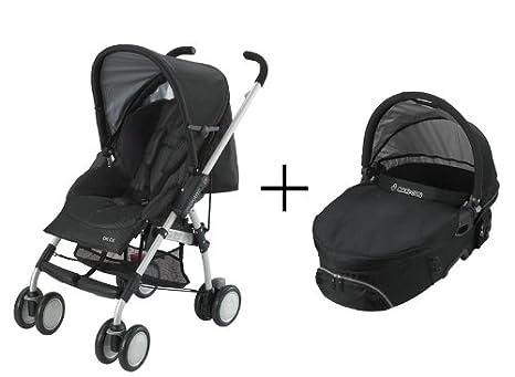 Maxi-Cosi 62323350 Citi CX Set - Carrito de bebé convertible, con capazo incluido, color negro: Amazon.es: Bebé