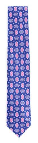 New Brioni Blue Silk Tie (Brioni Mens Silk Tie)