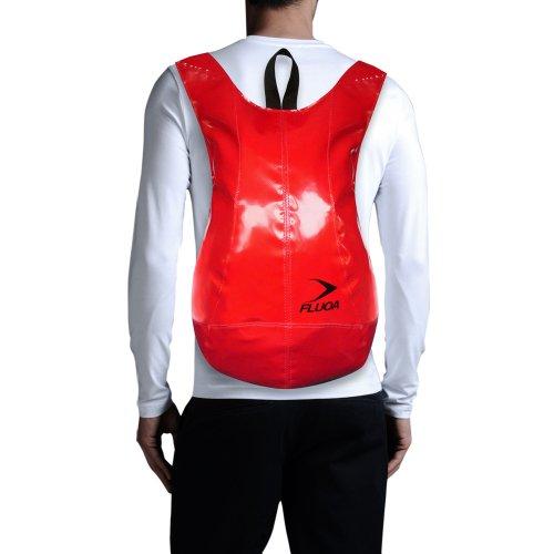 FLUOA - Bolso mochila  de sintético para mujer rojo rojo