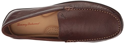 Tommy Bahama Heren Orion Breed Rijstijl Loafer Donkerbruin
