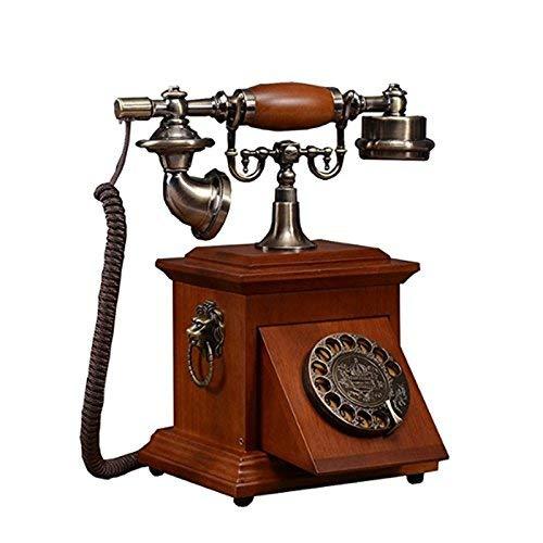BAIF Health UK Teléfono- Teléfono Decorativo Antiguo Madera ...