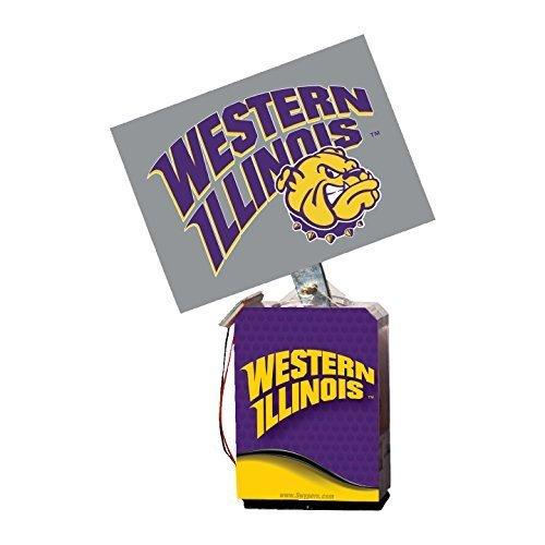 NCAA Western Illinois Leathernecks Adult Solar Buddy, 6.5