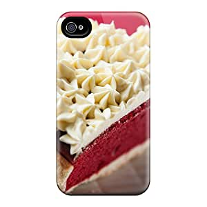 Awesome Design Piece Of Cake Hard Case Cover For Iphone 4/4s