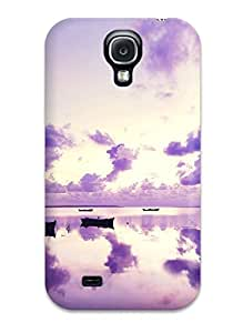 Hot High Quality Purple Sunset In Ocean Skin Case Cover Specially Designed For Galaxy - S4 7434178K35708857