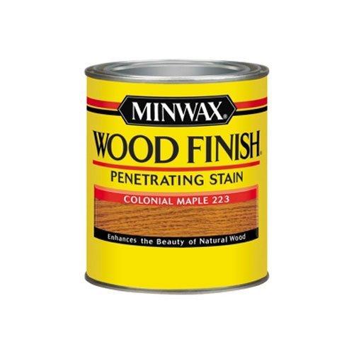 Minwax 70005444 Wood Finish Penetrating  Stain, quart, Maple (Maple Dark Finish)