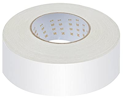 Carpet Tape - Double Sided 40-Yards x 2-Inch - Indoor/Outdoor Non-Slip Adhesive Carpet Edge Binding Tape - Perfect for Area Rugs Throw Rugs and Hardwood, Tile, Laminate Floor - Easy Installation