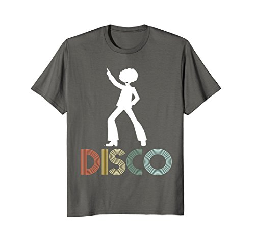 Mens Retro Disco Dancing Shirt for 70s Disco Dancer Gift Large (Boogie Nights Outfits)