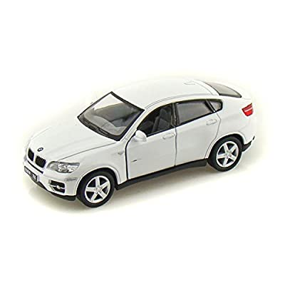 BMW X6 1/38 White: Toys & Games