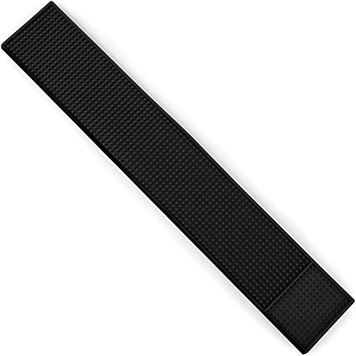 """24"""" x 4"""" Rubber Bar Top Spill Mat 