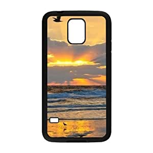 Sunrise ZLB545379 Custom Case for SamSung Galaxy S5 I9600, SamSung Galaxy S5 I9600 Case