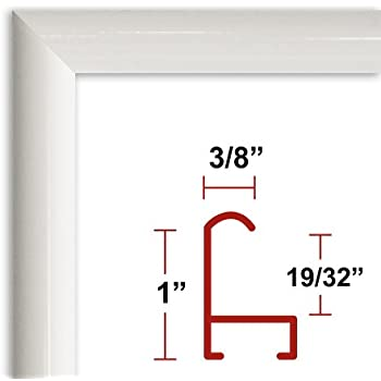 36 x 48 white poster frame profile 15 custom size picture frame