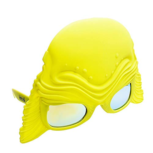 Costume Sunglasses Creature from the Black Lagoon Sun-Staches Party Favors -