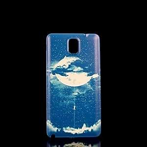 YULIN Teléfono Móvil Samsung - Cobertor Posterior - Gráfico/Diseño Especial - para Samsung Galaxy Note 3 Plástico )