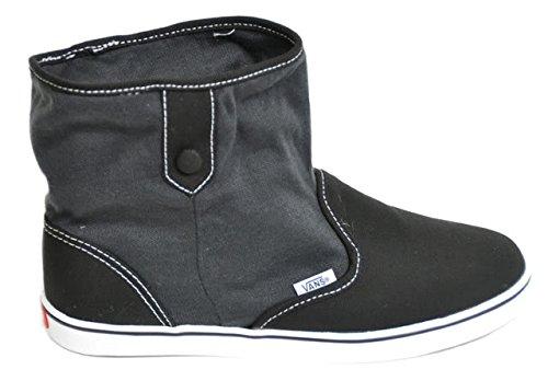 Vans mirah Botines 50s Rockabilly bota botas Black de Grey: Amazon.es: Ropa y accesorios