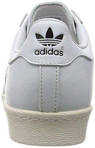 White ftwr Dlx Ftwr Superstar Deluxe cream White Adidas 80s White RZzw6