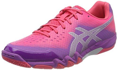 Asics Gel-Blade 6, Zapatillas de Deporte Interior Para Mujer Rosa (Orchid/prune/rouge Red 3633)
