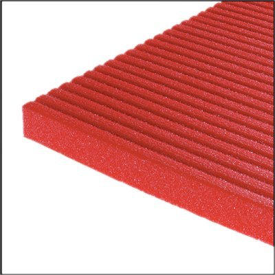 """Image of Fabrication Enterprises Airex Exercise Mat - Atlas - Red, 78"""" x 48"""" x 5/8"""", case of 10"""