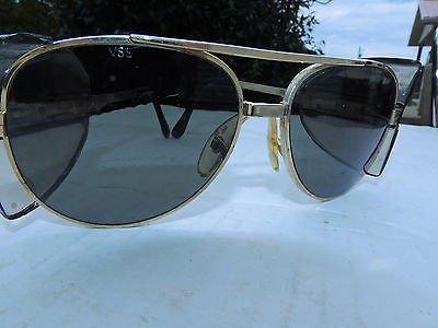 A-Safe Aviator Safety Glasses Smoke Lens with Gold - Aviators Good