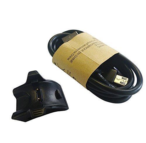 adaptador de base de carga USB para Huawei Band 2 Pro//huawei band 3 pro// Honor Band 4//3 negro Vicara Cargador de repuesto para Huawei Band 2 Pro