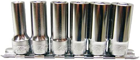 JTC 9.5mm セミディープ ソケット 6pcs セット 6角 JTCH306M