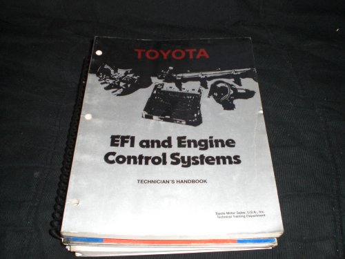 Toyota EFI and Engine Control Systems Technician's Handbook