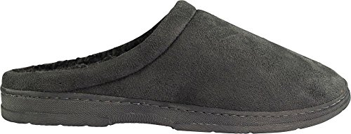 Foam Grey O Thinsulate J Repellant P Water Clog Memory Mens B Slipper Lined Xfaqww
