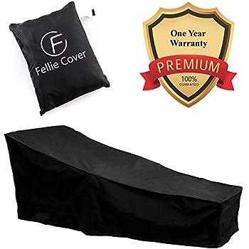 Amazon Com Vonhaus Chaise Lounge Cover The Storm