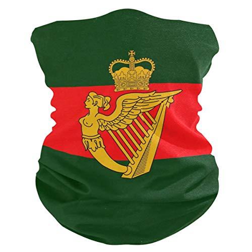 (Development & History Of Irish Flags Headband Womens Bandana Multifunctional Mens Balaclava, Neck Warmer, Face Mask, Tube Headwrap)