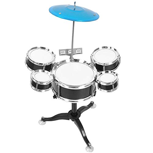 Zerodis Early Education Kids Mini Drum Set Beginners Drum Kit Musical Instrument for Kids Early Education Puzzle Children's Toys