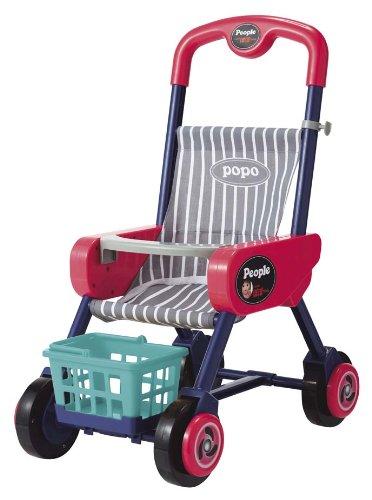 Popo-Shopping baby car -premium pink