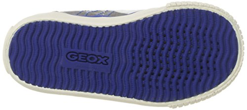 Geox Boys' JR KIWIBOY 89 Slip-On Grey/Royal 36 EU/4 M US Big Kid by Geox (Image #3)