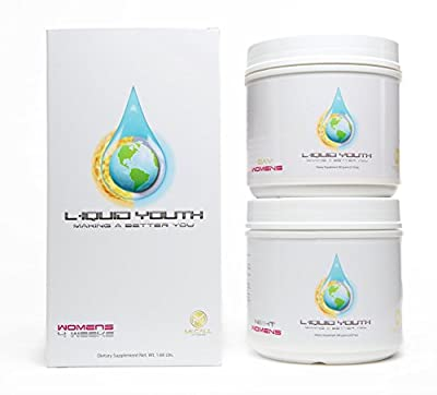 Women's Liquid Youth Amino Acid Anti Aging Health & Fitness Weight Loss Supplement System