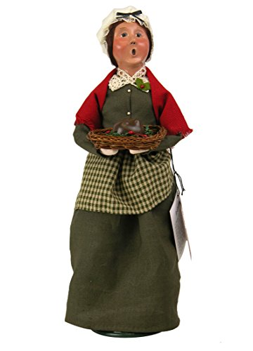 Byers' Choice Mrs Cratchit Caroler Figurine 2112A from The A Christmas Carol Collection (Byers Choice Christmas Carol)