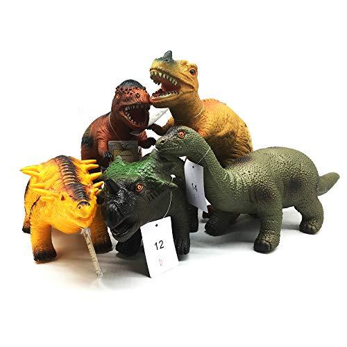 (Toys Kingdom 5 Piece PVC Soft Dinosaur, 13