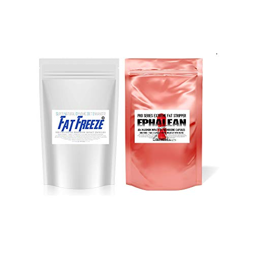 Lose Excess Weight Faster Body Reshaping Combo Stack Fat Freeze Plus EPHALEAN Extreme Fat Burners