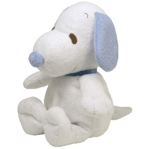 Ty Pluffies Snoopy - White/Blue