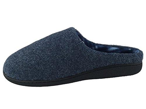 SaneShoppe - Zapatillas Bajas hombre azul marino