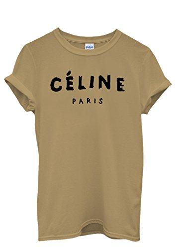 Celine Paris Unisex Top T-shirt Rihanna Swag Comme Des Fuckdown Geek Meow - Paris Celine Tops